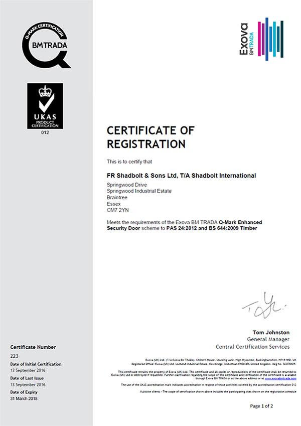 Shadbolt_PAS_24_certification
