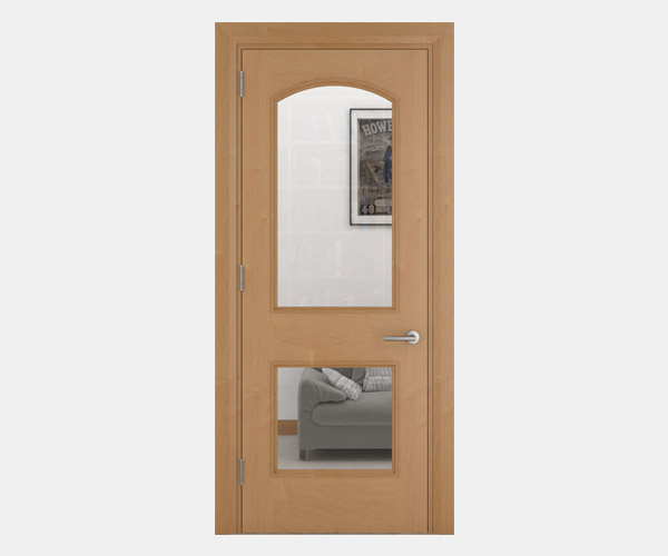 Shadbolt_Framlingham_veneered_panelled_doors_with_glazing_CC_Canadian_Maple