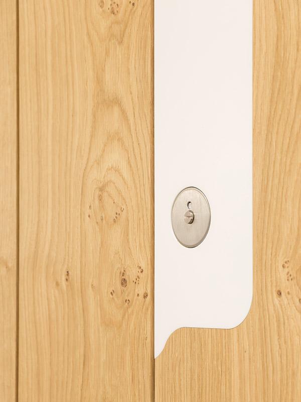 Shadbolt Pippy Oak veneered cubicles installed at One Fen Court
