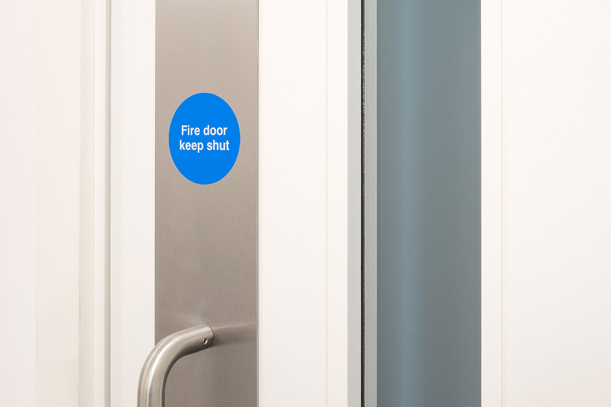 Shadbolt_painted_fire_door_at_8_Devonshire_Square
