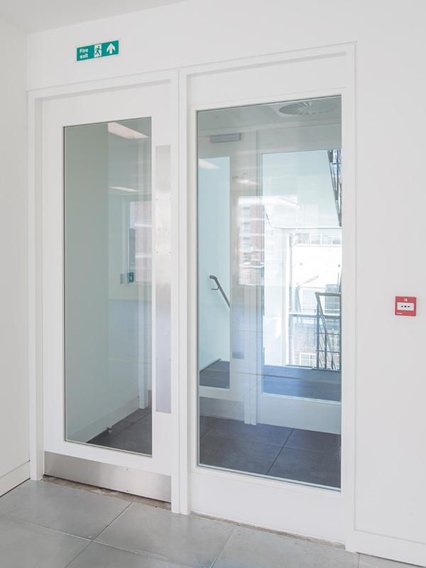 Shadbolt_One_Seymour_Street_stairwell_door
