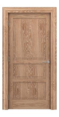 Shadbolt Type11 Timeless Hardwood Door in European Oak veneer with lime finish