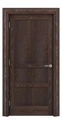 Shadbolt Type11 Timeless Hardwood Door in European Oak veneer with dark stain and lime finish