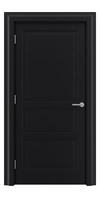 Shadbolt Type11 Timeless Hardwood Door in RAL 9005 paint finish