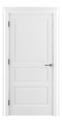 Shadbolt Type11 Timeless Hardwood Door in RAL 9010 paint finish