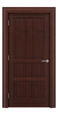 Shadbolt Type11 Timeless Hardwood Door in Sapele Mahogany veneer