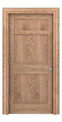 Shadbolt Timeless Type12 hardwood panelled door in European Oak veneer with lime finish