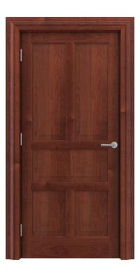 Shadbolt Timeless Type15 hardwood panelled door in American Cherry veneer