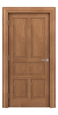 Shadbolt Timeless Type15 hardwood panelled door in European Oak veneer
