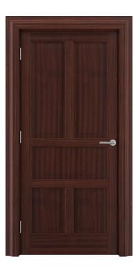 Shadbolt Timeless Type15 hardwood panelled door in Sapele Mahogany veneer