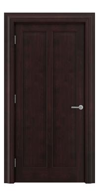 Shadbolt Timeless Type18 hardwood panelled door in American black walnut veneer with dark stain finish