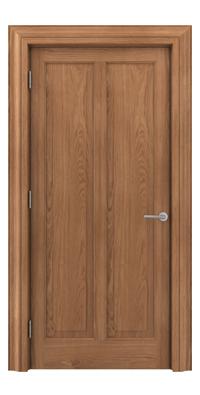 Shadbolt Timeless Type18 hardwood panelled door with European Oak veneer