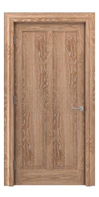 Shadbolt Timeless Type18 hardwood panelled door in European Oak veneer with lime finish