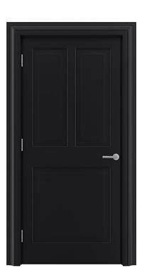 Shadbolt_Type4_Timeless_Hardwood_Door_in_RAL9005_paint_finish