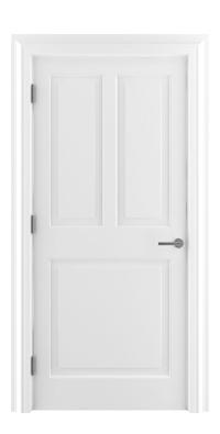 Shadbolt_Type4_Timeless_Hardwood_Door_in_RAL9010_paint_finish