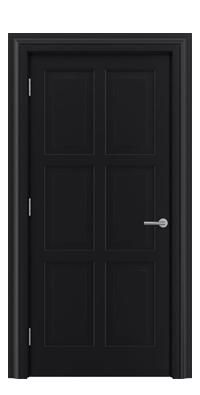 Shadbolt_Type7_Timeless_Hardwood_Door_with_RAL9005_paint_finish