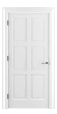Shadbolt_Type7_Timeless_Hardwood_Door_with_RAL9010_paint_finish