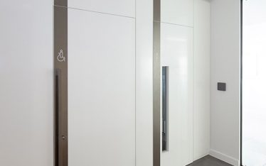 Shadbolt fire doors supplied to 85 Queen Victoria Street London