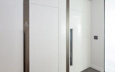 Shadbolt fire doors supplied to 85 Queen Victoria Street London