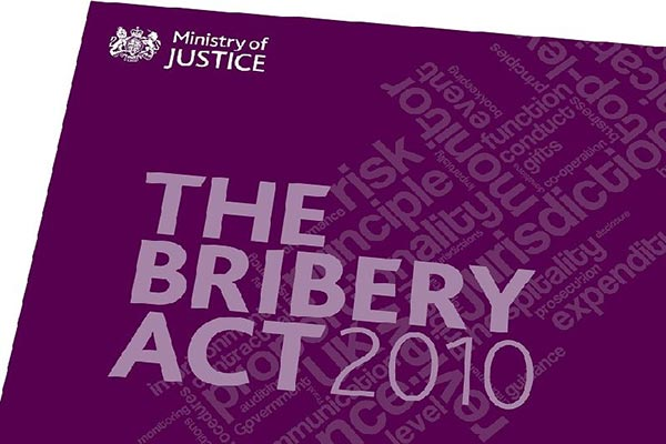 Shadbolt anti-bribery policy