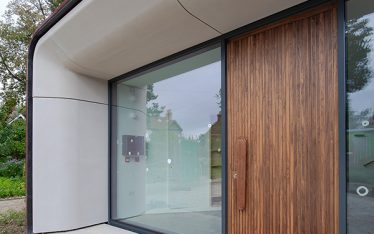 Shadbolt supplied doors to the new Maggie's Centre at The Royal Marsden.